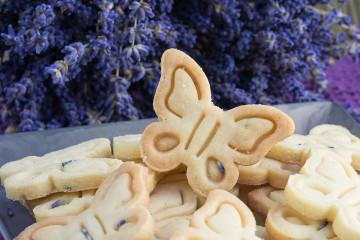 Levandulové sušenky