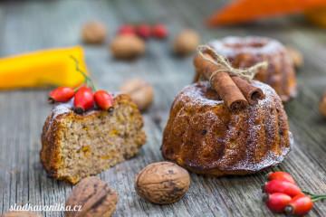 Bábovky z dýně a ořechů