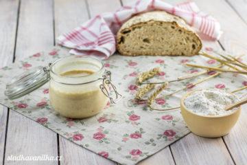 Žitný kvásek - základ pro chleba a jiné pečivo