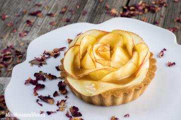 Tartaletky s jablečnými růžemi