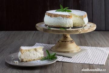 Tvarohovo-smetanový dort