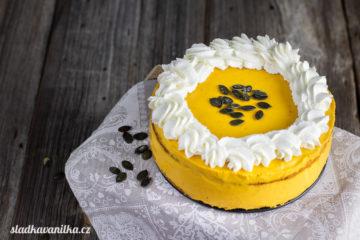 Dýňový dort s karamelem