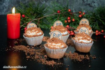 Kakaovo-banánové cupcakes
