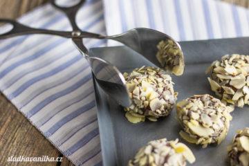 Čokoládové lanýže se slaným karamelem (Truffles)