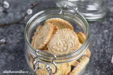 Máslové sušenky se vzorem