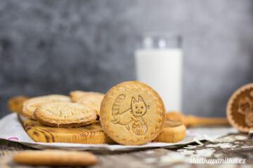 Dětské sušenky s medem a ořechy